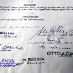 VDDI Gruendungsurkundei 1950