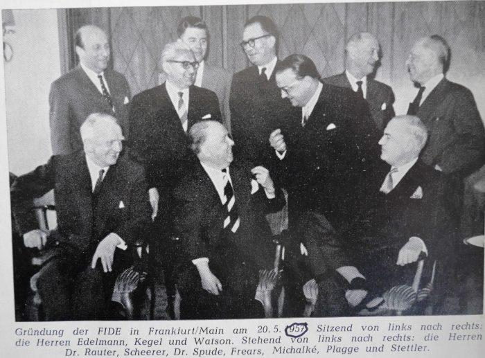 FIDE Gruendung 1957